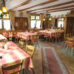 """Gaststube, Restaurant, Landgasthof """"Zum Goldenen Kreuz"""" Pfrungen"""