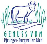 Logo Genuss vom Pfrunger-Burgweiler Ried
