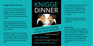 Knigge Dinner